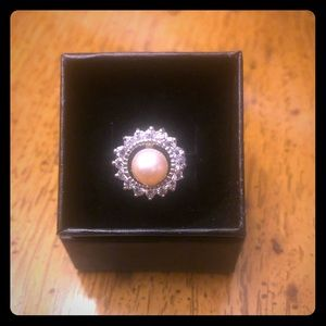 Sterling Silver and Fresh Water Pearl Ring